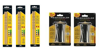 Prismacolor Premier Colorless Blender Pencils, 2-Count 3pk With Prismacolor Hand