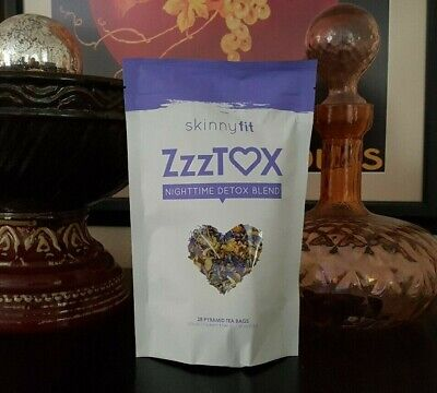Skinnyfit ZzzTOX Nighttime Detox Tea NEW + SAMPLE!!