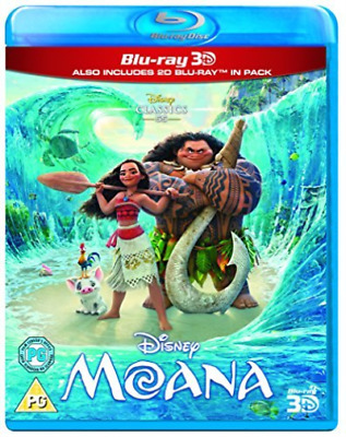 Moana DVD NEW