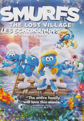 Smurfs: The Lost Village (Bilingue) (Canadia Nuovo DVD