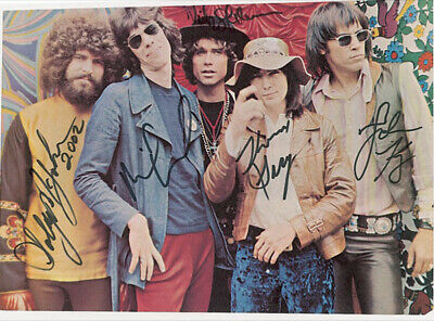 Steppenwolf - Inscribed Magazine Photo Signed With Co-Signers