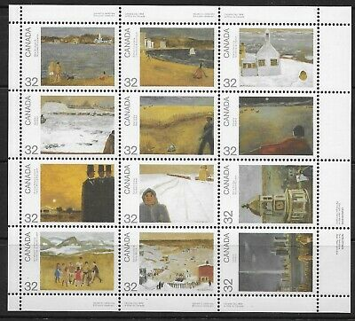 Canada , 1984 , Canada Day ,  Sheet Of 12 Stamps. , Perf , Mnh , Cv$8.50