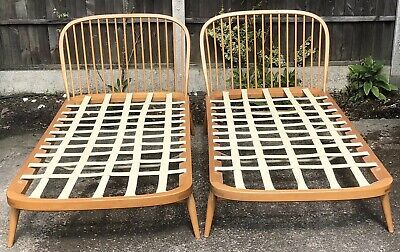 Outstanding Retro Ercol Single Bed Delivery Available Matching Bed Available