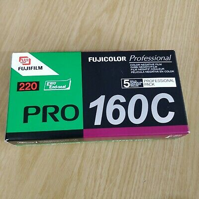 Fujifilm Fujicolor Pro 160C 220 Film - Cool Storage -