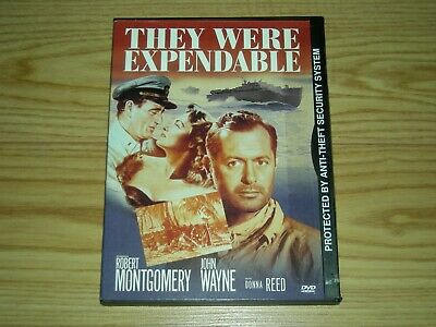 They Were Expendable (DVD, Snap Case) John Wayne,Donna Reed,Robert Montgomery