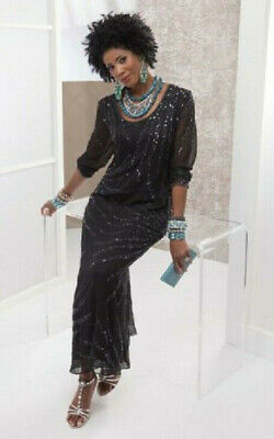 5e6c7ff585 ... Royce Dress Dinner Party Cruise Event Tie 1X 2X 3X PLUS.  21.99 Buy It  Now 14d 7h. See Details. size 12 Black Beaded Gown Dress formal by Ashro new