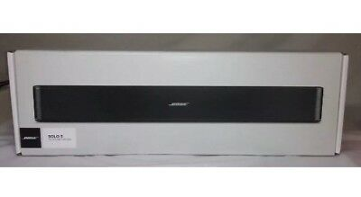 BOSE SOLO 5 TV BLUETOOTH SOUNDBAR FACTORY RENEWED w/ 1-YEAR Bose WARRANTY
