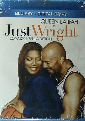 JUST WRIGHT (2010) Two-Disc Blu-ray Set Queen Latifah Common Paula Patton SEALED