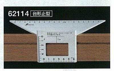 Japanese SHINWA Square Layout Miter 45 + 90 + 135 Degrees équerre Wi From japan