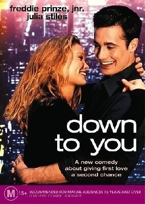 Down To You (DVD, 2005) Region 4 Comedy DVD Rated M Brand NEW and Sealed