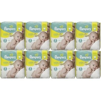 PAMPERS - New Baby - Couches Taille 1 (2-5 kg) - Pack x176 - livraison gratuite