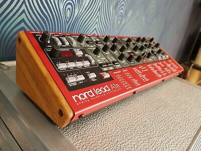 Clavia Nord A1R Rack Synth Solid Oak End Cheeks From Synths And Wood