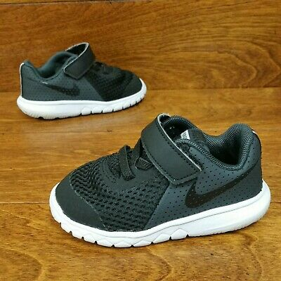 fb93b749bf Nike Air Flex Experience 5 (Toddler Size 5C) Athletic Sneaker Shoes Black  White