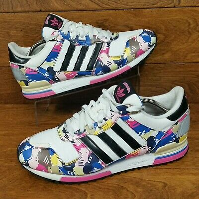 a8db783bc7cb2 Adidas Originals ZX 700 (Men s Size 12) Athletic Sneaker Shoes White Pink