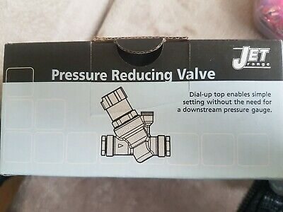 "Jet Adjustable Pressure Reducing Valve 15Mm , 1/2"" & 3/4"" Multi Connection Wras"