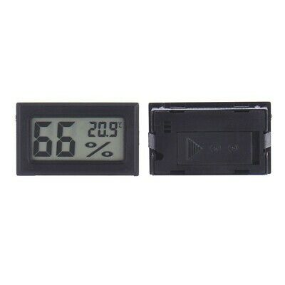 Digital LCD Hygrometer Humidity Meter Tester Temperature Thermometer Small Size