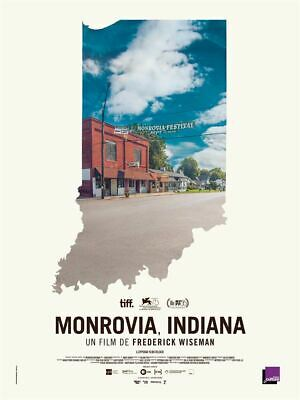 MONROVIA, INDIANA - Frederick Wiseman documentaire - 1 ou 2 place billet cinéma