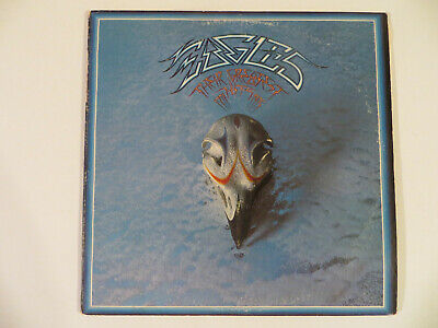 EAGLES – Their Greatest Hits 1971-75 - LP 1976 Asylum - Embossed & Poster -ROCK
