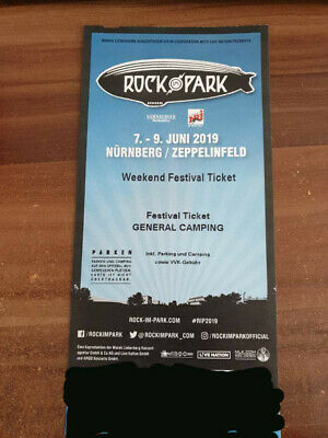 Rock im Park 2019 - 3 Tage Festival Ticket General Camping