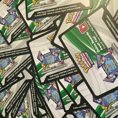 50x Unbroken Bonds Pokemon Sun And Moon  TCGO PTCGO TCG Online Codes Cards