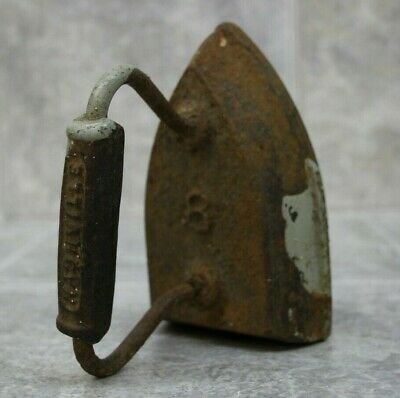 Vintage Nashville Iron Doorstop/Bookend