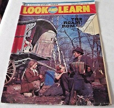 look and learn magazine No 611 29th September 1973