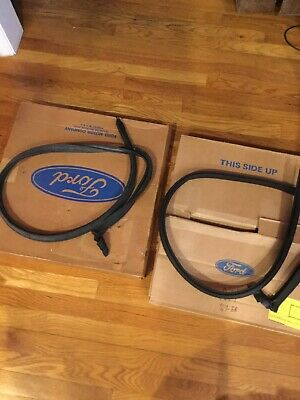 Nos 1967-1968 Mustang Shelby Fastback Roof Rail Rubber