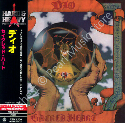 DIO SACRED HEART CD MINI LP OBI Ronnie James Dio Vivian Campbell Vinny Appice