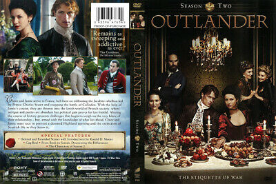 Outlander Season Two DVD Set (Region 1: Canada and U.S. ONLY) 2 II NEW SEALED