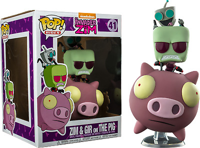 Funko Pop! Rides - Invader Zim - Zim & GIR on The Pig #41 Exclusive