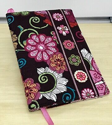 Vera Bradley Book Cover in Mod Floral Pink