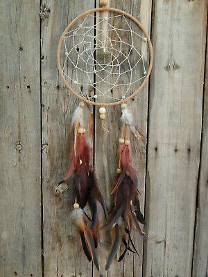 Dream Catcher Native American Style Hand Made With Dragonfly
