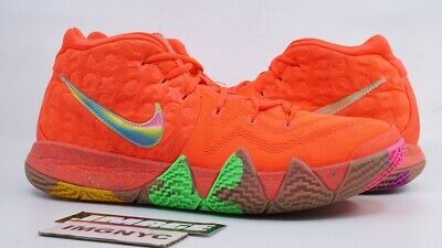 cad4ecbc0391 Nike Kyrie 4 Used Size 12 Lucky Charms Bright Crimson Multi Color Bv0428 600