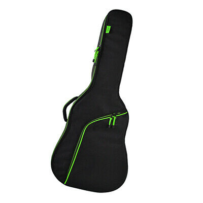 Padded Guitar Carry Case Gig Bag Backpack for 36 inch Acoustic Guitar Green