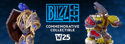BlizzCon 2019 Pass Ticket with ALLIANCE collectible and all goodies