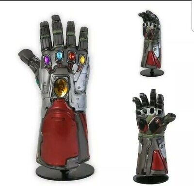 Endgame 4 Avengers Iron Man Tony Infinity Gauntlet Arm Cosplay Latex Gloves Prop