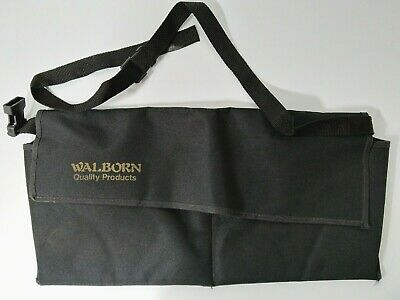 Walborn Metal Detector Finds Pouch Twin Compartment Quick Release Waist Strap