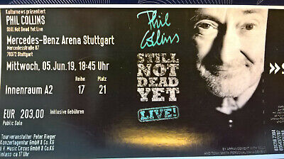 1 Ticket für PHIL COLLINS, Stuttgart, 05. Juni 2019, Innenraum A2, TOP!