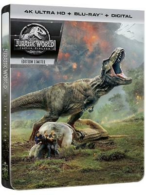 4K + Blu Ray + Digital Hd  ** Jurassic World, Fallen Kingdom  **  Neuf