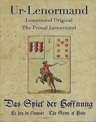 Primal Lenormand. The Game of Hope by Gluck, Alexander (Cards book, 2016)