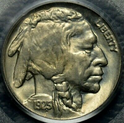 1925 Buffalo Nickel PCGS MS 64 ( Part of complete collection )