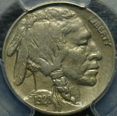 1928-S Buffalo Nickel PCGS XF 45 ( Part of complete collection )