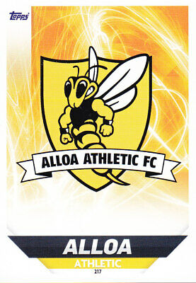 TOPPS MATCH ATTAX SPFL 2018-19 - Club Badge - Alloa Athletic FC - # 217
