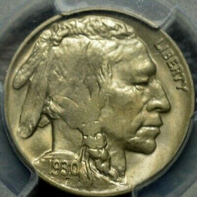 1930 Buffalo Nickel PCGS MS 64 ( Part of complete collection )