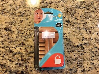 Safety 1ST Folding Door Lock Child Safety Baby Proof 00221