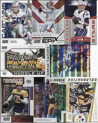 2019 Score Football  INSERTS  8 DIFFERENT INSERTS (YOU Pick  Your  Player)