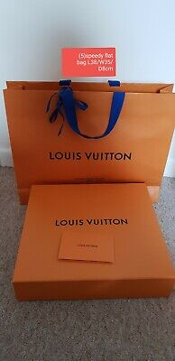 Louis vuitton (5) speedy25 30 sized Empty Box And Carrier Bag Set L38/W35/D8cm