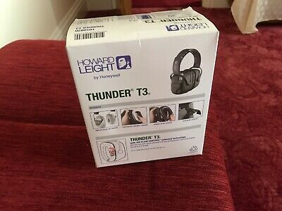 Honeywell Howard Leight 1010970 Thunder T3 Dielectric Comfort H/B E/Defend