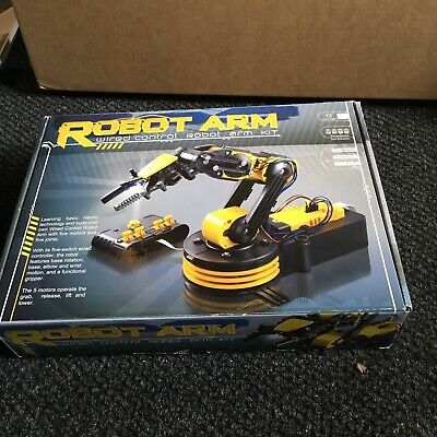ROBOT ARM - WIRED CONTROL ROBOT ARM KIT - new in box
