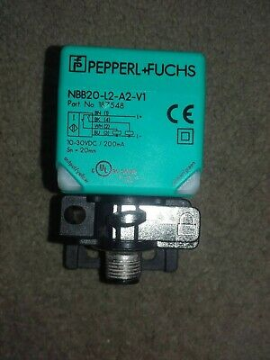 Sensor Inductivo NJ1 5-8GM40-E2-V1 Pepperl Fuchs 016056 NJ1 58GM40E2V1